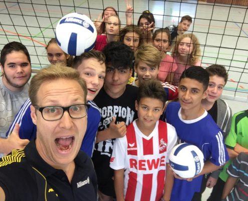 Schnuppertraining der Volleyball Akademie Düren e.V.